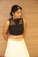 Roshni Prakash in a Sleeveless Crop Top and Long Cream Ethnic Skirt 069.JPG