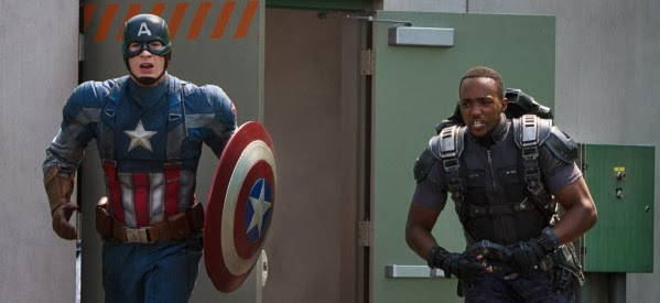 Captain America: The Winter Soldier (2014) - Captain America (Chris Evans) and Falcon (Anthony Mackie)