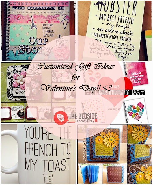 Personalized Gift Ideas For Valentine's Day OR Any Other Occasion!