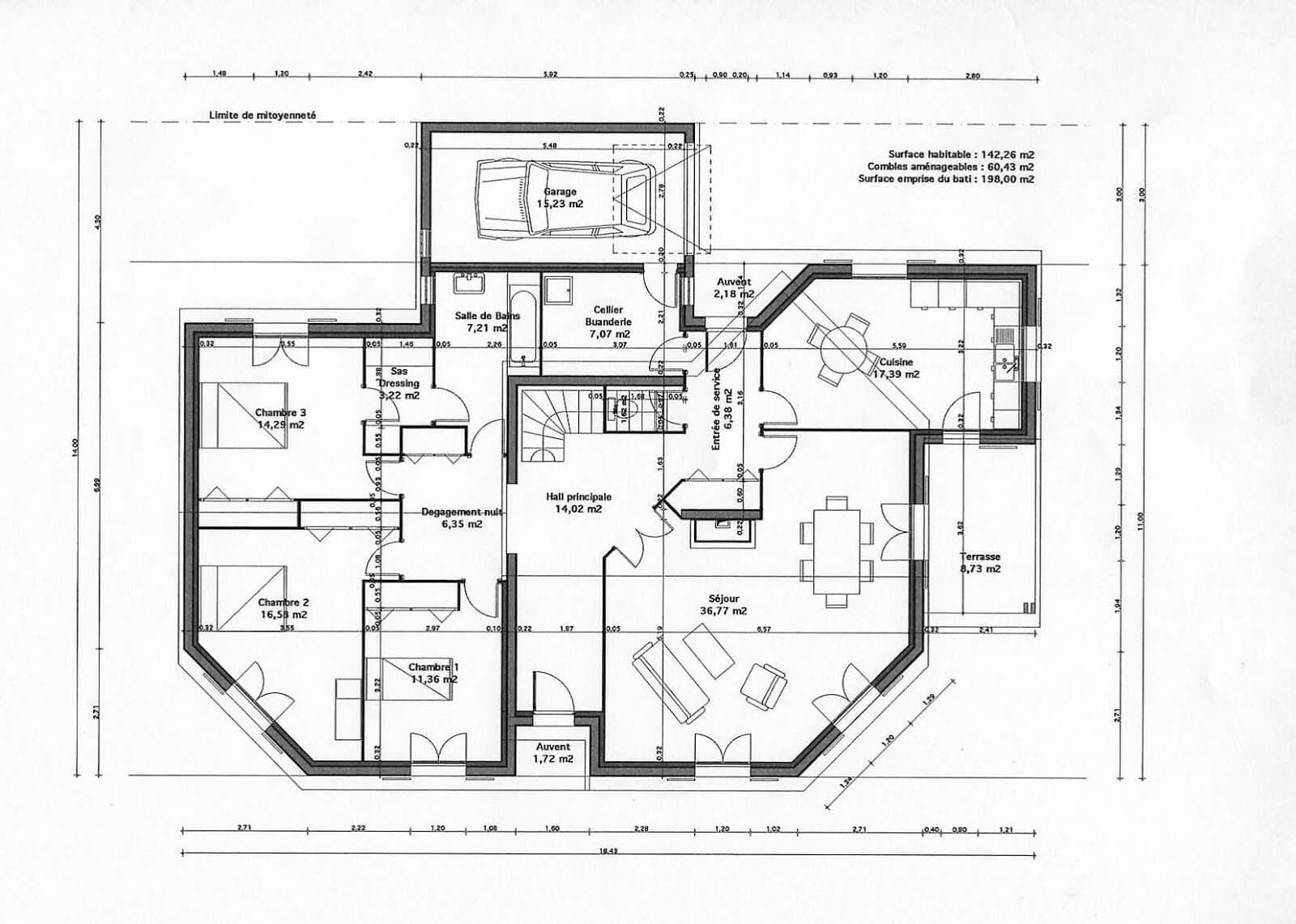 98 Plans De Maison   Livre De Plan De Maison . Idees Etonnantes