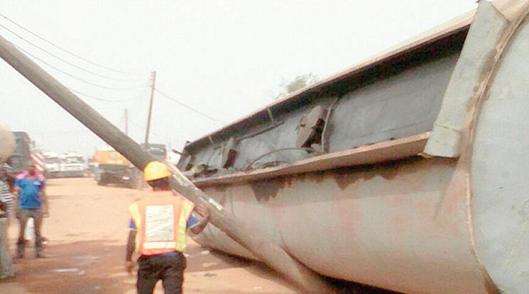 fuel tanker fell ijegun lagos
