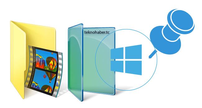 Windows Gezgini'ne Hızlı Erişim Klasörleri Nasıl Eklenir