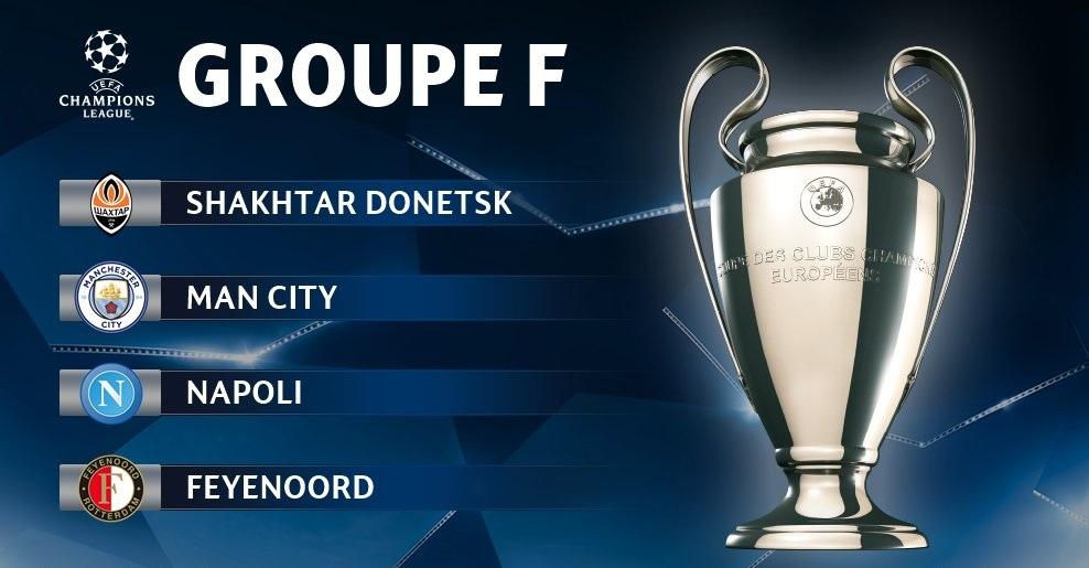 Pronostic Ligue des Champions - Groupe F
