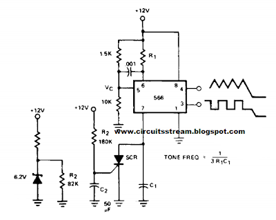 Wiring Schematic diagram: Build a Tone Burst Generator Wiring diagram Schematic