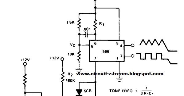 Wiring Schematic diagram: Build a Tone Burst Generator