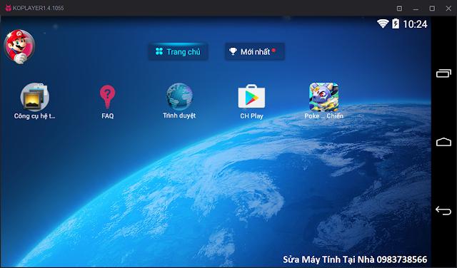 Hệ điều hành Android trên máy tính Windows