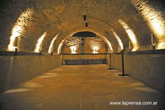 Túnel en el complejo El Zanjón en San Telmo