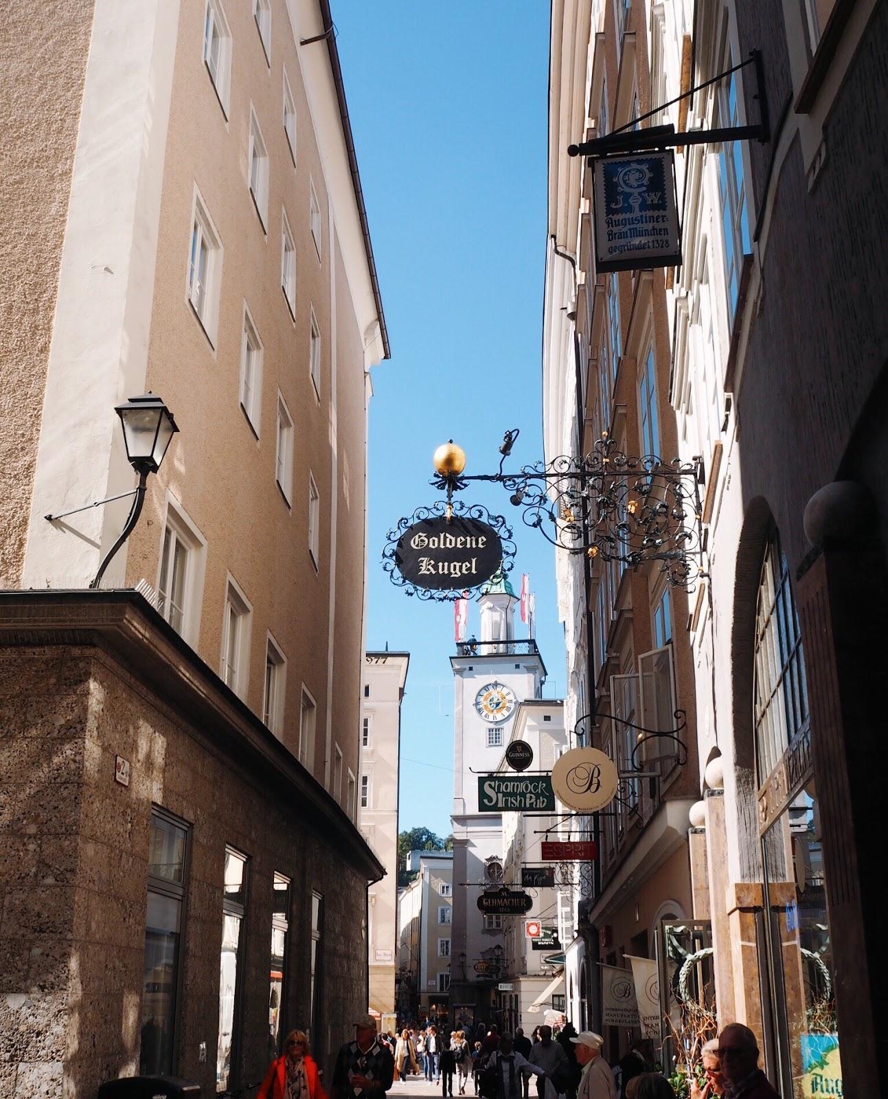 Shopping Streets Salzburg