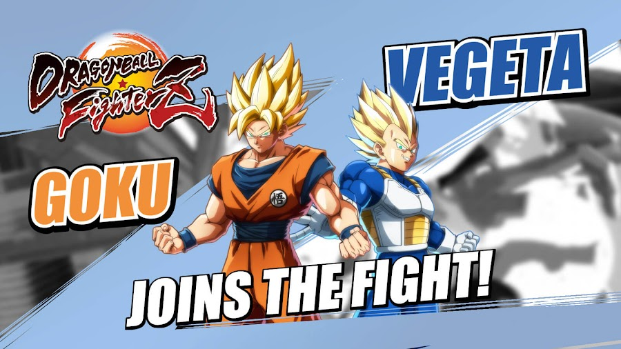 dragon ball fighterz base goku vegeta dlc