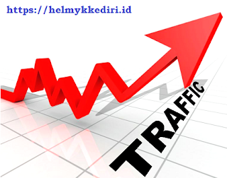 mendapatkan trafik blog