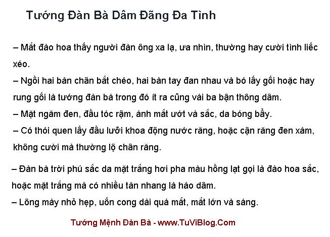 Tuong Dan Ba Da Tinh