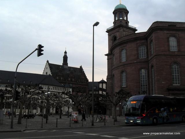 ruta por Frankfurt