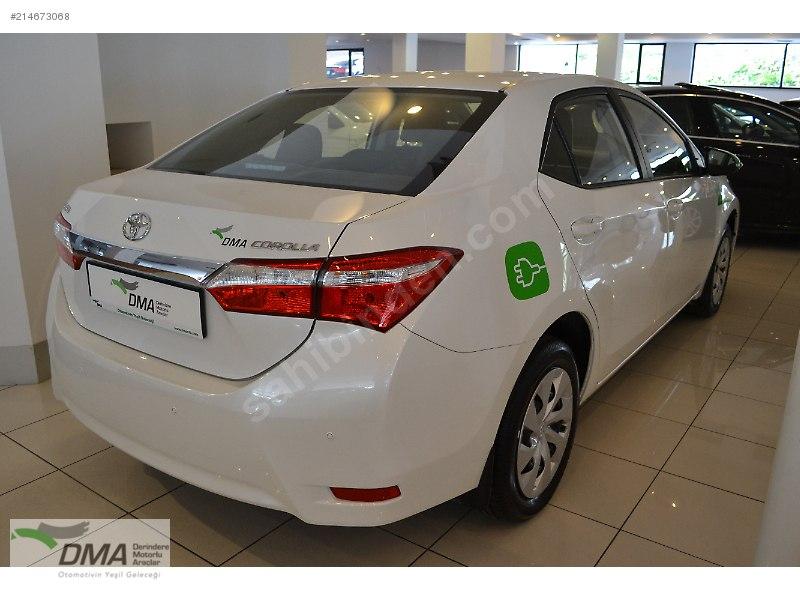 En güçlü yerli elektrikli otomobil; DMA Plus Corolla ...