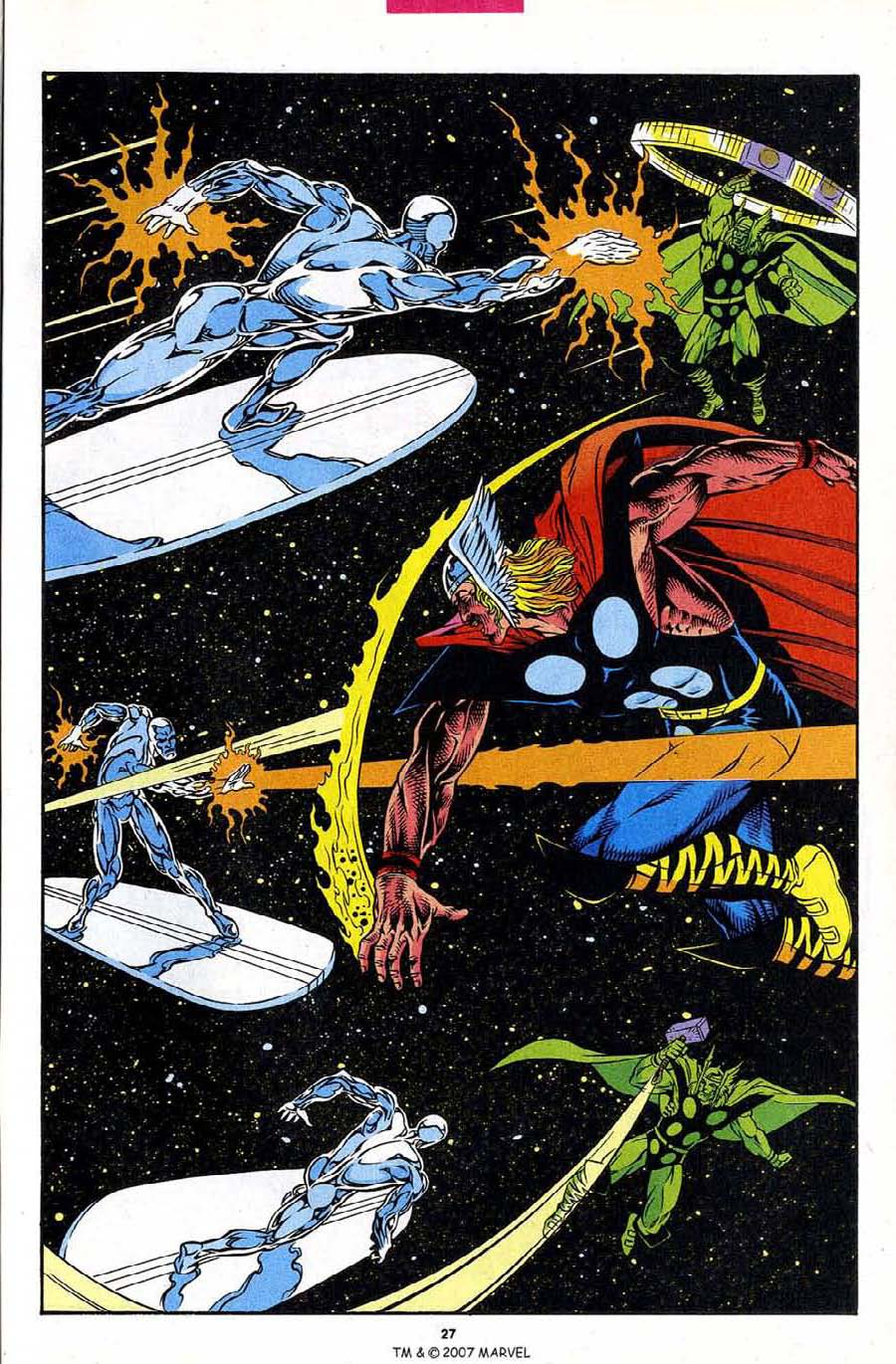Read online Silver Surfer (1987) comic -  Issue #86 - 29