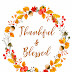 Free Thankful & Blessed Fall Printable