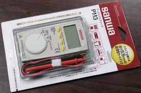 Jual Multimeter Digital Sanwa Pm3 Harga Murah