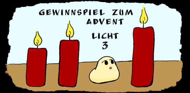 3. Licht zum Adventsgewinnspiel