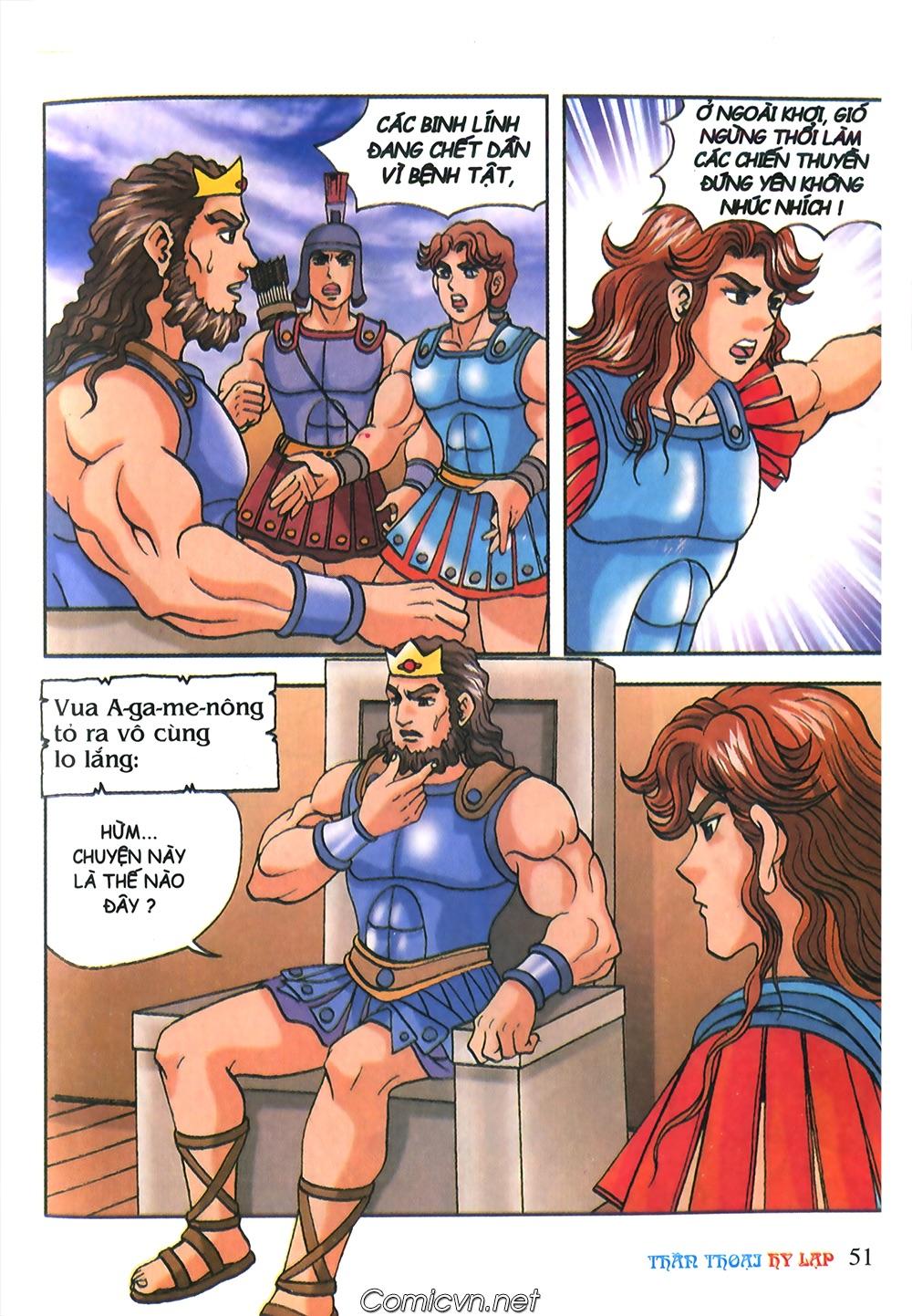 Thần Thoại Hy Lạp Màu - Chapter 53: Trước giờ xung trận - Pic 15