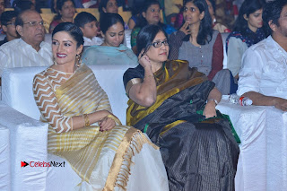 Actress Vimala Raman Stills in White Silk Saree at Om Namo Venkatesaya Audio Launch Event  0009.JPG