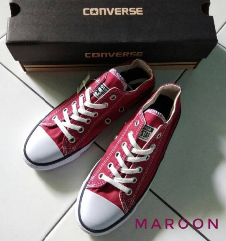 Grosir Sepatu Converse All Star KW murah grade ori low 855b8478cc