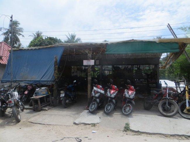 Аренда скутера на острове Тао