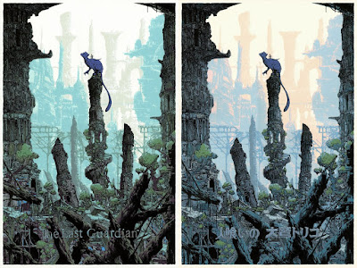 WonderCon 2019 Exclusive The Last Guardian Screen Print by Killian Eng x Cyclops Print Works