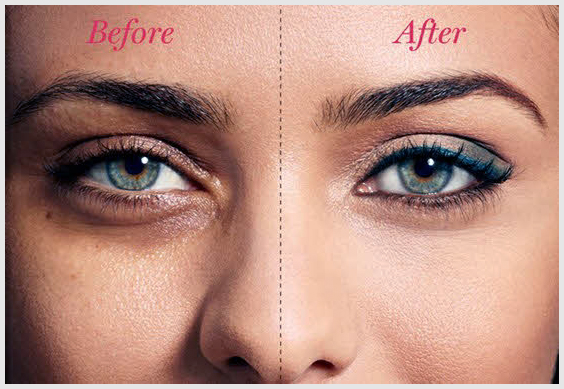 Treat Your Dark Circles Puffy Eyes By Creating A Triangle Rather Than Half Moon The Best