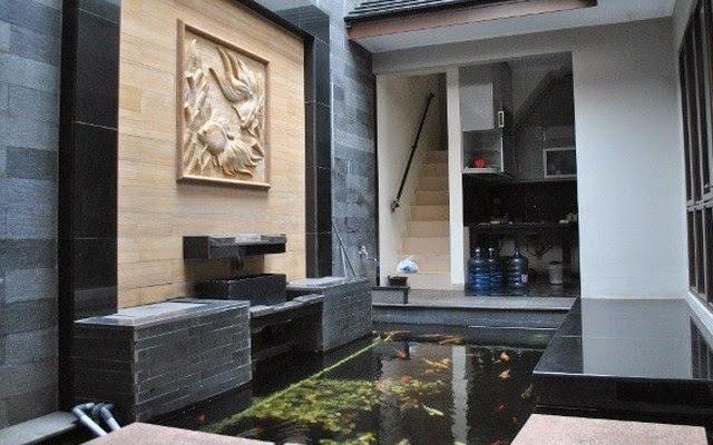 Kolam Ikan Minimalis Dalam Rumah