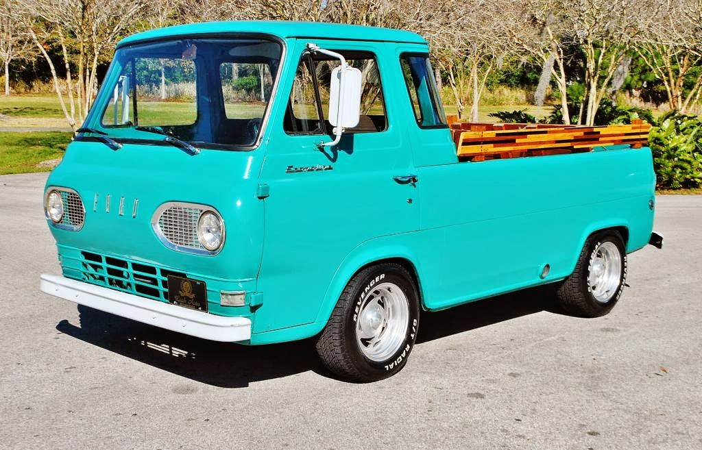 Daily Turismo: 10k: Heavy Fuel: 1962 Ford Econoline Pickup, OM617