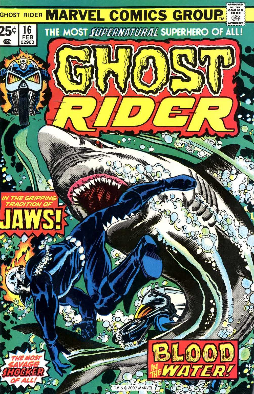 Ghost Rider (1973) issue 16 - Page 1