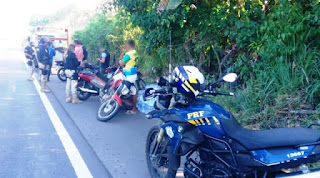 PRF apreende 75 motocicletas