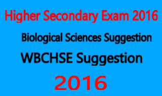 wbchse biology suggestion 2016