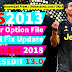 PES 2013 - PESEdit 13.0 Option File + Small Fix 01-10-2018