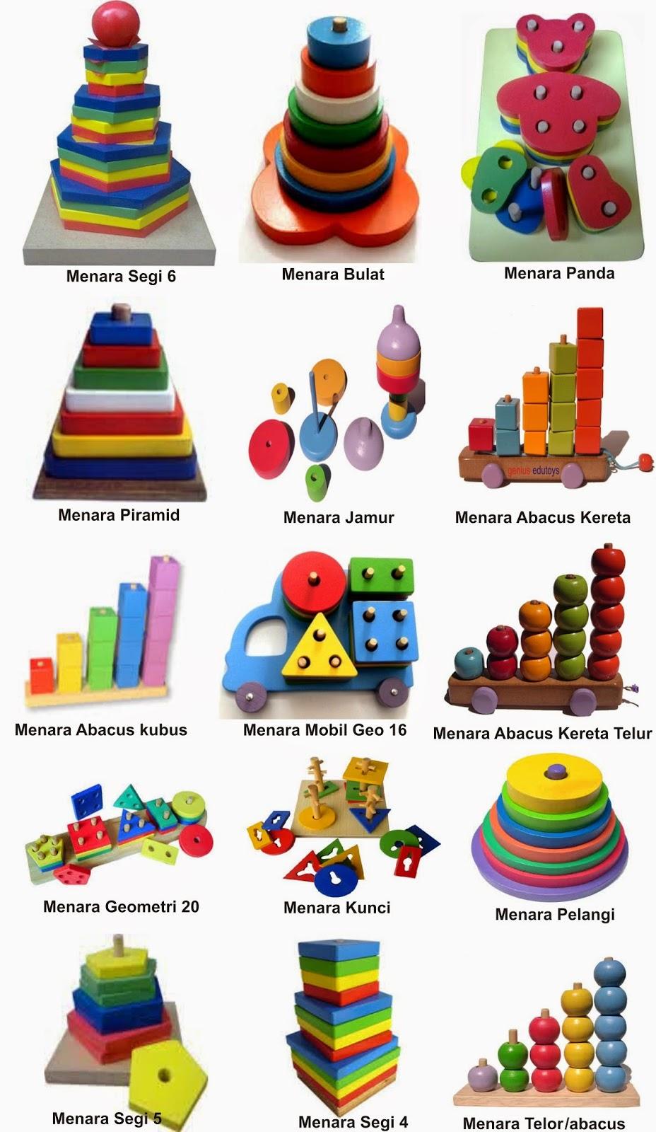 Produsen Mainan dan Alat Peraga Edukatif Produksi dan