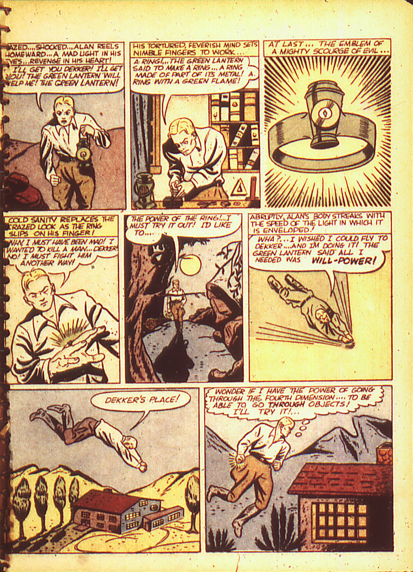 Read online All-American Comics (1939) comic -  Issue #16 - 7