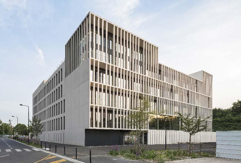 sede IDF Habitat a Parigi - studio Piuarch