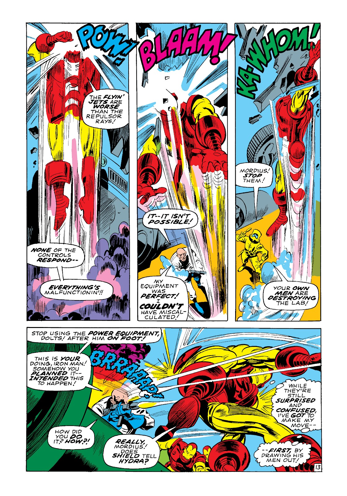 Read online Marvel Masterworks: The Invincible Iron Man comic -  Issue # TPB 4 (Part 3) - 37