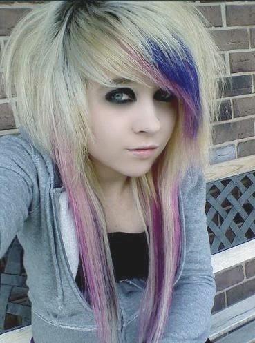 Mode Haar Blonde Emo Hairstyles Blond Punk Kapsels