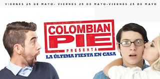 COLOMBIAN PIE: La última fiesta en casa