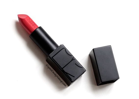 Nars Audacious Lipstick in Juliette Swatch Review