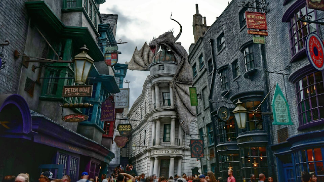 Beco Diagonal na Universal Studios em Orlando