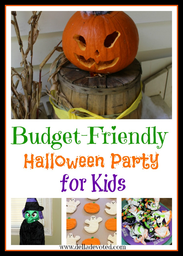 budget friendly halloween party for kids