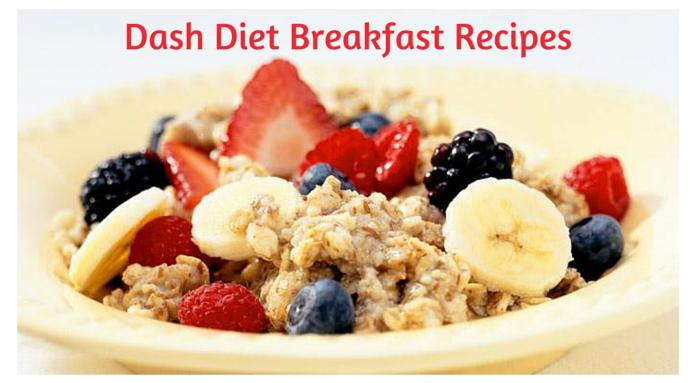 is all fruit breakfast ok on dash diet