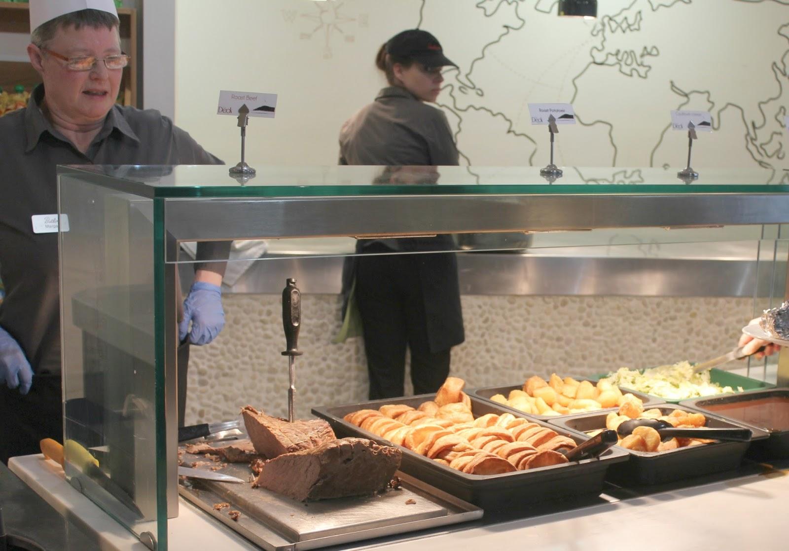 Butlins Food Court Minehead