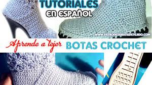 Cómo tejer botas al crochet / Tutoriales