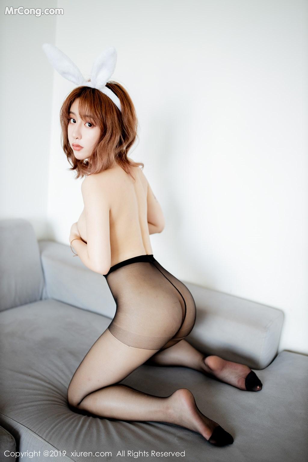 Image XIUREN-No.1654-NM-MrCong.com-037 in post XIUREN No.1654: 糯米NM (40 ảnh)