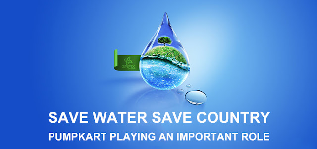 Save water save country– Pumpkart playing an important role