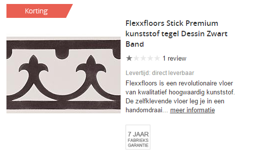 Flexxfloors Wehkamp