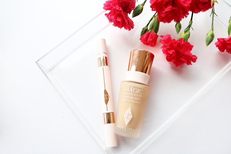 Charlotte Tilbury Magic Foundation & Mini Miracle Eye Wand - Review & Swatches