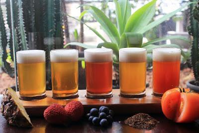 Cervejaria Nacional serve sampler de verão com frutas e ervas